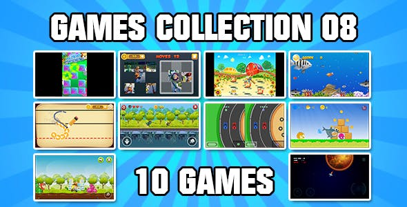 Game Collection 08 (CAPX and HTML5)