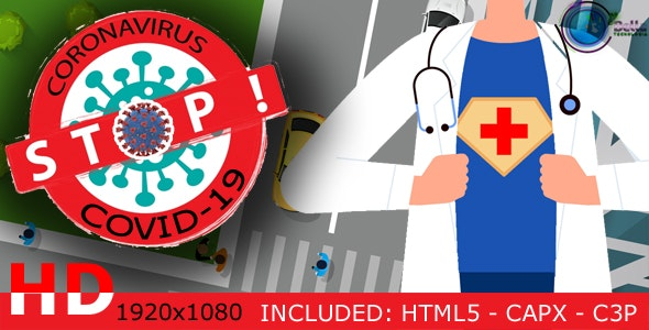 STOP - Coronavirus the True Story - HTML5 / CAPX / C3P - CodeCanyon Item for Sale
