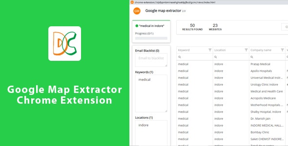 Google Map Extractor - Chrome Extension - CodeCanyon Item for Sale