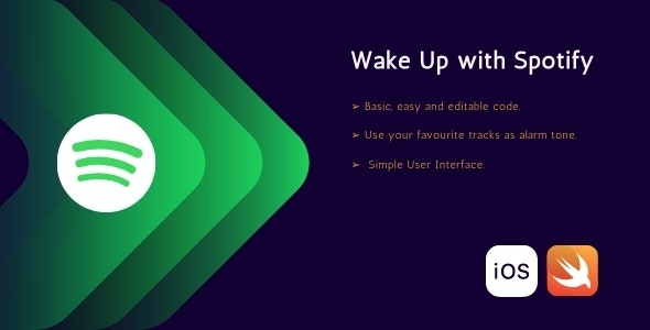 Wake up with spotify - CodeCanyon Item for Sale