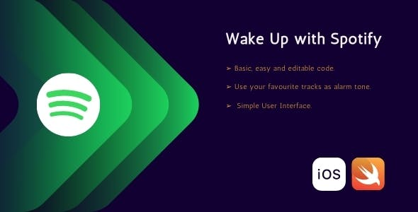 Wake up with spotify