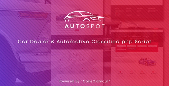Autospot - Classified Ads Script for Automobile & Vehicles - CodeCanyon Item for Sale