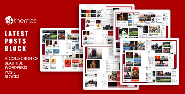 Latest Posts Block - A Collection of Beautiful WordPress Posts Gutenberg Blocks - CodeCanyon Item for Sale