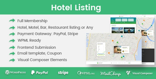 Hotel Listing - CodeCanyon Item for Sale