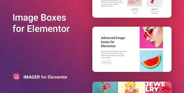 Imager – Advanced Image-Box for Elementor - CodeCanyon Item for Sale