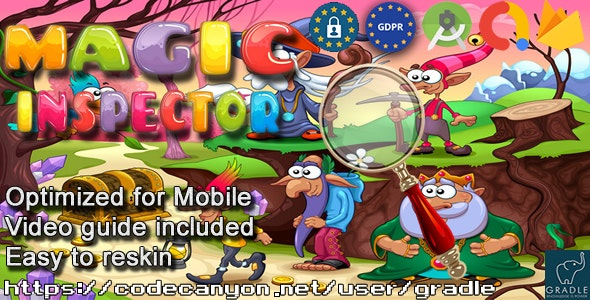 Magic Inspector (Admob + GDPR + Android Studio) - CodeCanyon Item for Sale