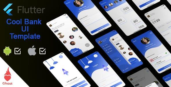 Flutter | Bank, Finance, UPI app Template