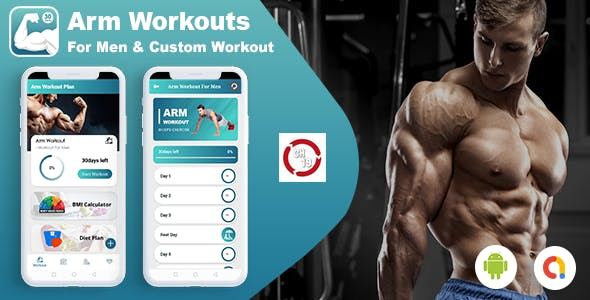 Android Arm Workouts For Men & Custom Workout