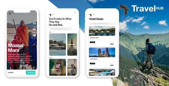 Travel HUB (Tour booking and managing application for travel agency) - CodeCanyon Item for Sale