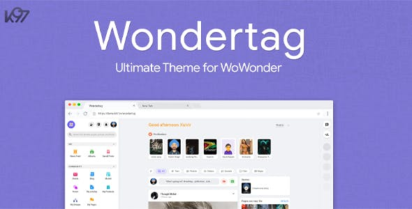 Wondertag - The Ultimate WoWonder Theme