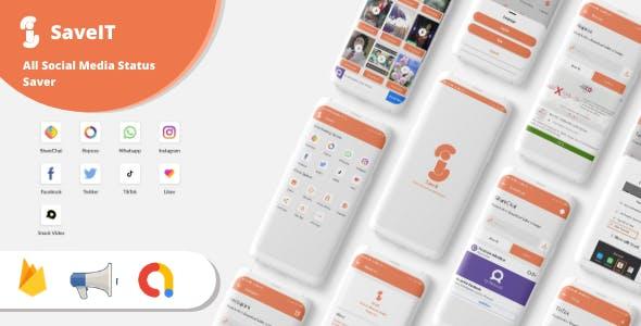SaveIt - Snack Video, ShareChat, Roposo, Likee, Tiktok, Instagram, Whatsapp Video Saver App