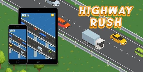Highway Rush - HTML5 Game