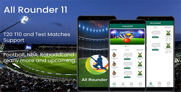 AllRounder11 - The Fantasy Cricket App ( Dream 11,Fantasy Cricket, Cricket , Fantasy Sports App)