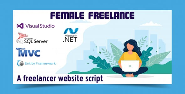 Female Freelance - A freelancing platform - Asp Net MVC 5