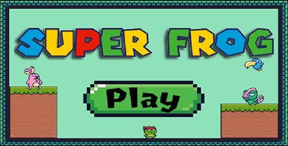 Super Frog - HTML5 Mobile Game