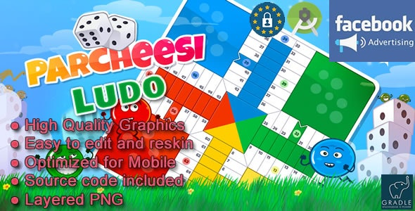 Ludo (Facebook + Admob + Android Studio) - CodeCanyon Item for Sale