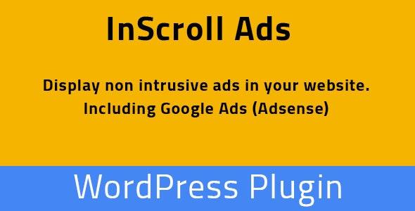 InScroll Ads - WordPress Plugin - CodeCanyon Item for Sale
