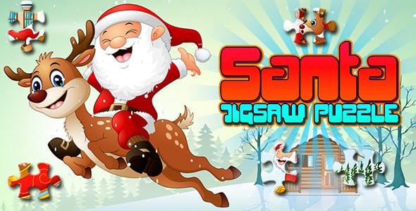 Santa Jigsaw Puzzle Game (CAPX   HTML5   Cordova)