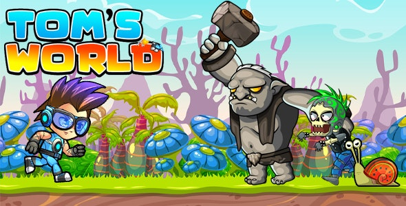 Super Jungle Adventure Tom World Full Unity Game - CodeCanyon Item for Sale