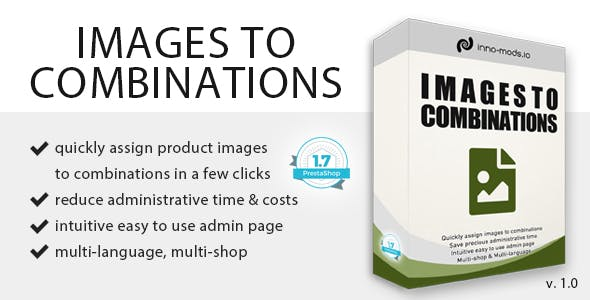 Images To Combinations for Prestashop