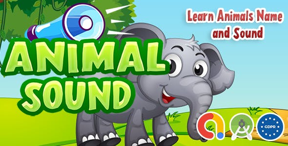 Kids Animal Name & Sound Learning