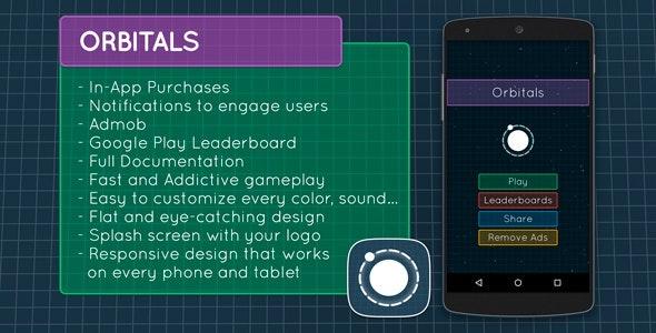 Orbitals - Admob + Leaderboards + IAP - CodeCanyon Item for Sale