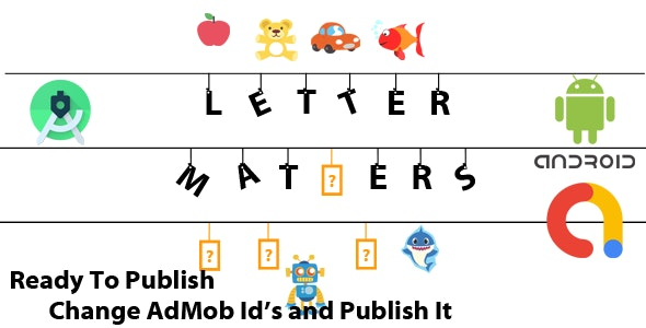 Letter Matters Game Template - CodeCanyon Item for Sale