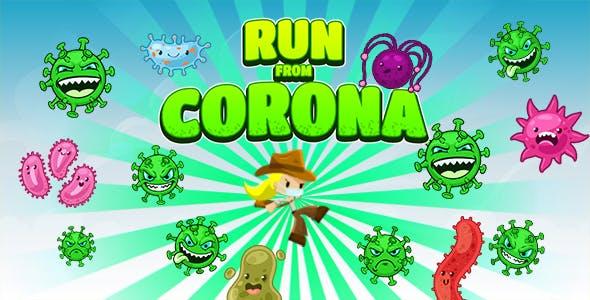 Run From Corona Game (CAPX | HTML5 | Cordova)