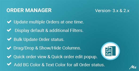 Order Manager - Full Order Management