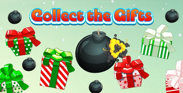 Collect The Gifts Game (CAPX and HTML5) Christmas Game