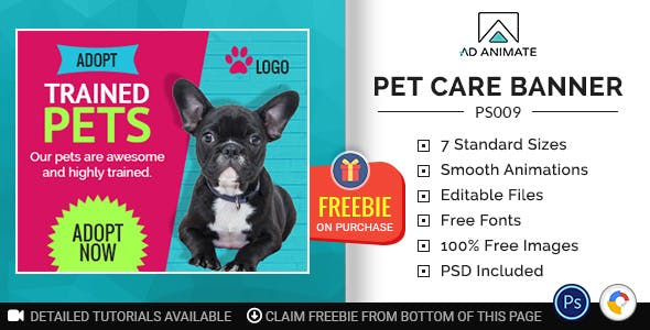 Professional Services | Pet Care Banner (PS009)