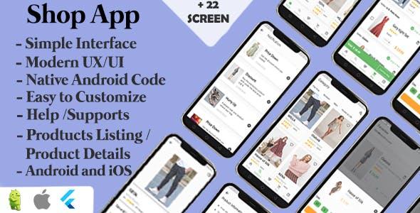 Shopping App UI  | Flutter