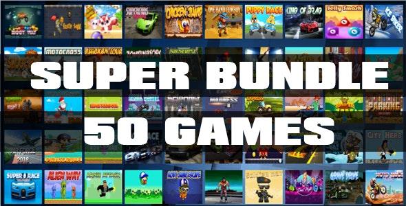 Super Bundle - 50 Games - CodeCanyon Item for Sale