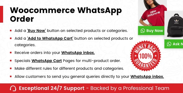 WooCommerce Whatsapp Order - CodeCanyon Item for Sale