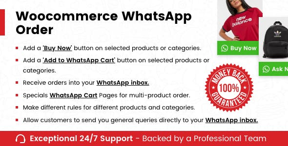 WooCommerce Whatsapp Order