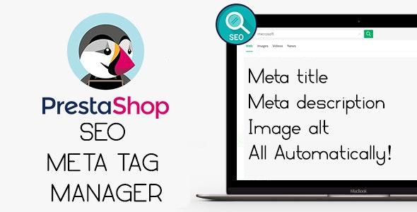 Seo Meta Tags Manager - Prestashop Module - CodeCanyon Item for Sale