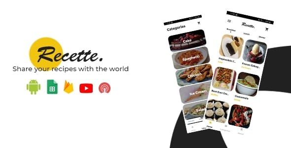 Recette - Share your recipes with the world