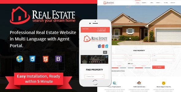 Real Estate Custom Script - CodeCanyon Item for Sale