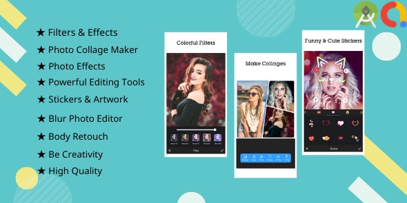 Picee - Photo Editor, Collage Maker - CodeCanyon Item for Sale