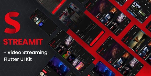 Streamit - Video Streaming Flutter UI Kit