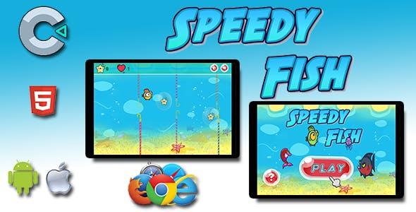 Speedy Fish - HTML5 Mobile Game