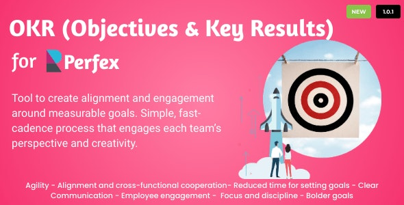 OKRs - Objectives and Key Results for Perfex CRM - CodeCanyon Item for Sale