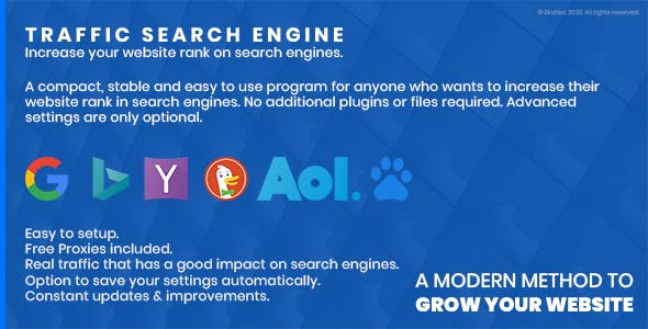 Traffic Search Engine - Increase your site's rank in search engines