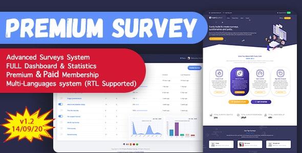 Puerto Premium Survey Builder SAAS - CodeCanyon Item for Sale