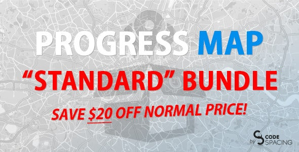 Progress Map, Standard Bundle - CodeCanyon Item for Sale