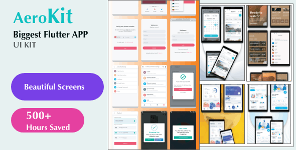 Flutter UI Kit (E-Commerce,Car Rental,Hotel Booking,Fitness,Online Course ) - CodeCanyon Item for Sale
