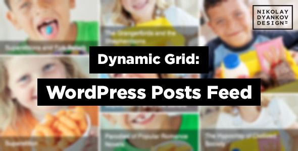 Dynamic Grid: WordPress Posts Feed Slider - CodeCanyon Item for Sale