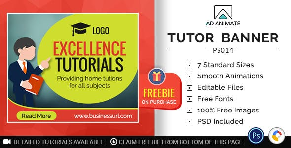 Professional Services | Tutor Banner (PS014)