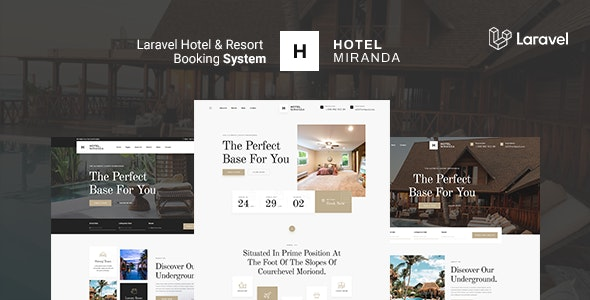 Miranda - Hotel and Resort Booking system