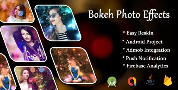 bokeh photo editor create & bokeh effect & bokeh camera - CodeCanyon Item for Sale